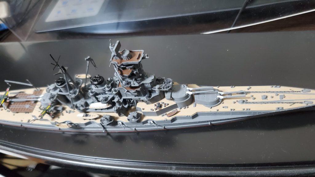 戦艦榛名のプラモデル
