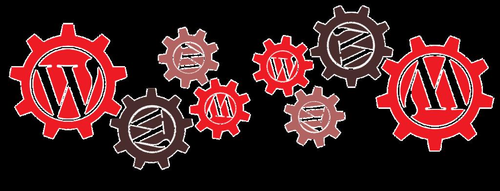 ワードプレスのロゴの歯車