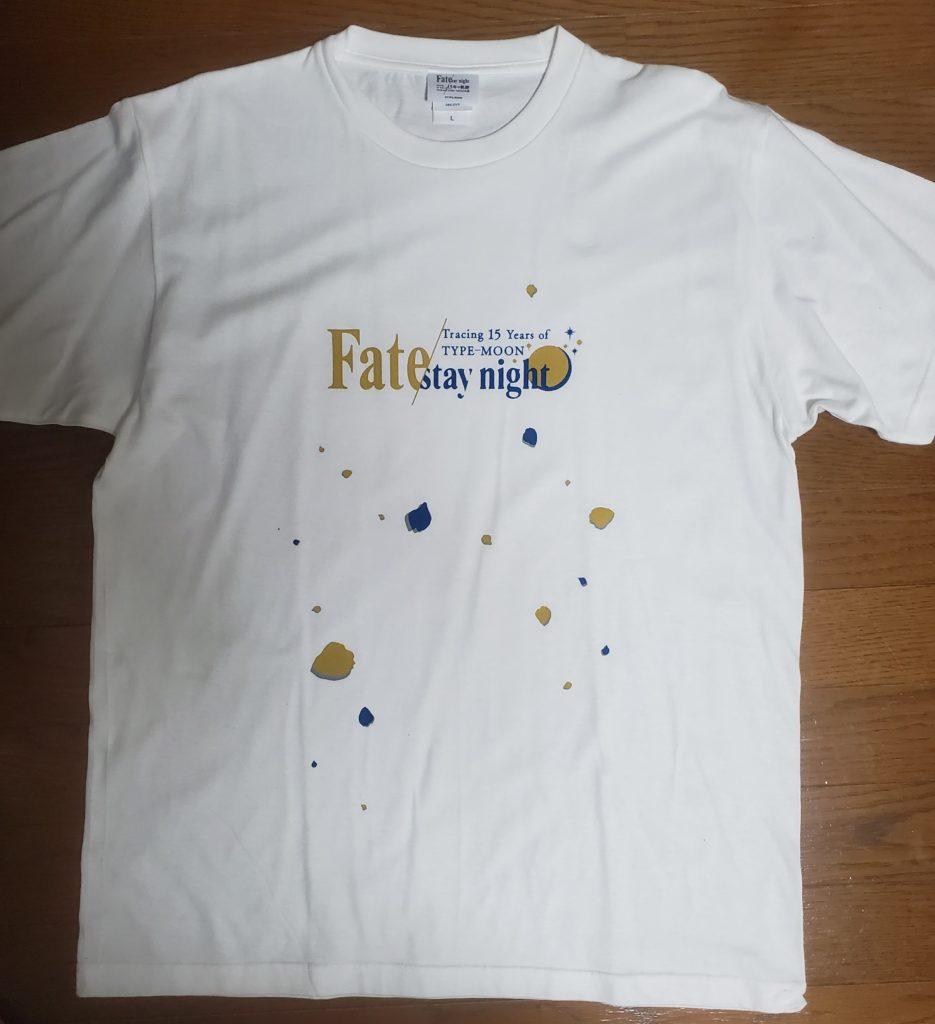 TYPE-MOON15周年記念Tシャツ