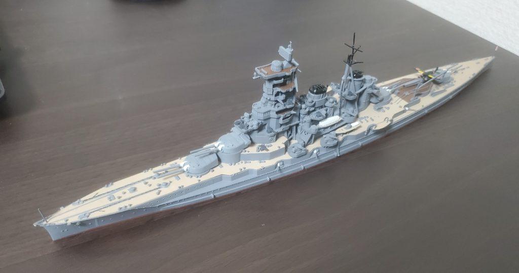 フジミ 戦艦榛名 1/700