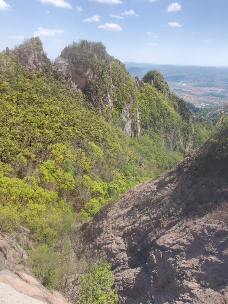 鳳凰山からの景観