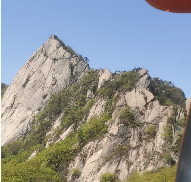 鳳凰山の山頂