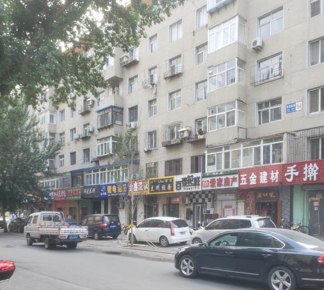 中国庶民のアパート