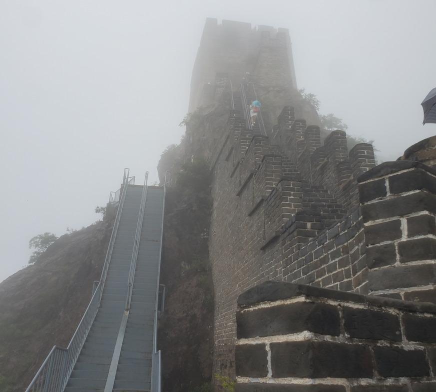 角山長城の長城