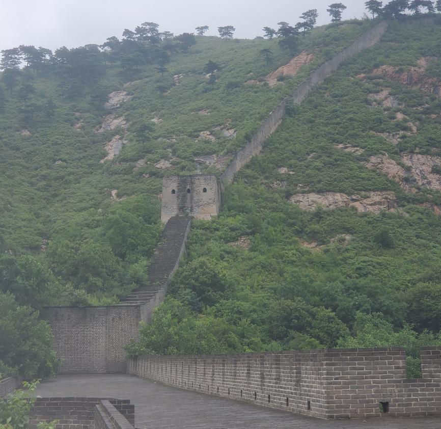 九門口 万里の長城