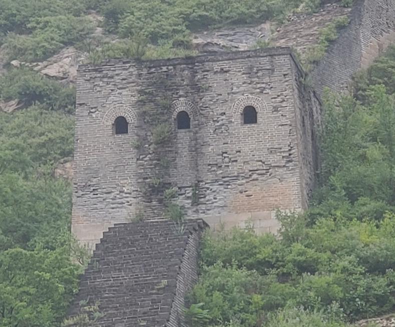 九門口の野長城 万里の長城