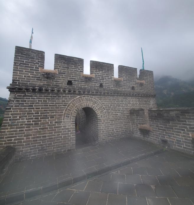 九門口の第一楼閣