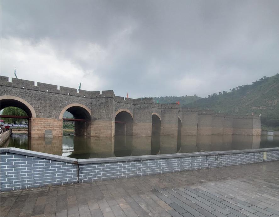 九門口 水上長城 水門