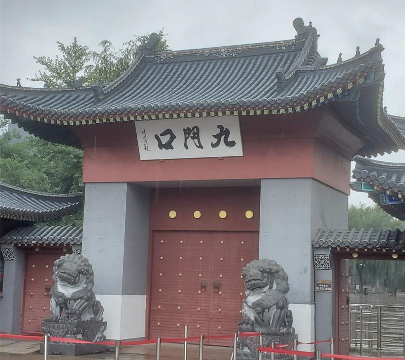 九門口長城の門