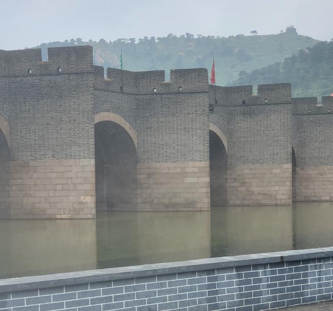 九門口の水上長城