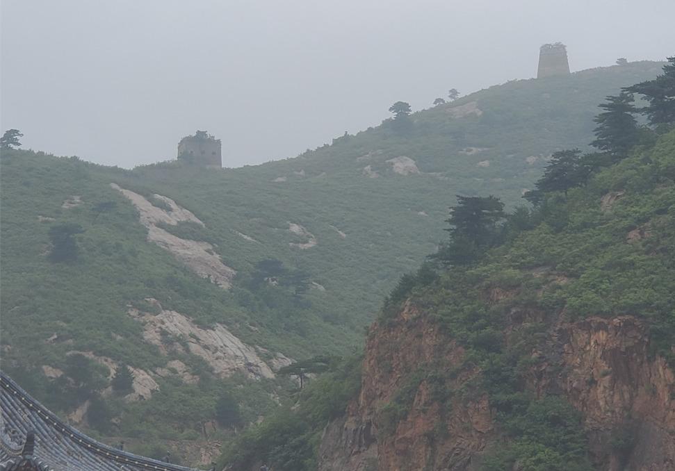 九門口の野長城
