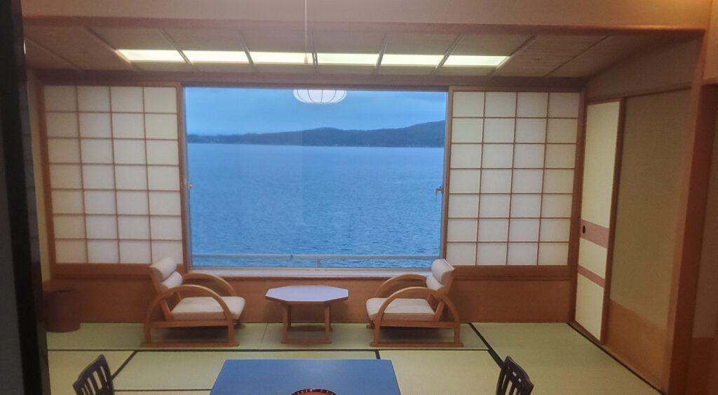 和倉温泉のオーシャンビュー
